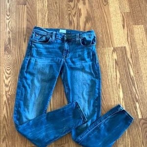 Hudson jeans size 28 super skinny krista